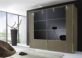 Bedroom : Attractive Awesome Closet Sliding Glass Doors ...