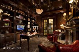 steampunk office decor. Traditional Home Office Design Library Chicago Marshall Erb Decor Steampunk