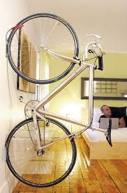 hang bike on wall vertically