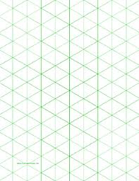 patterns to draw on graph paper isometric graph paper