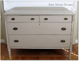painted furniture blogsAnnie Sloan Chalk Paint in Coco and lightened it with Old White