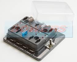 single power in 10 way mini blade fuse box with led failure warning classic mini blade fuse box at Mini Blade Fuse Box