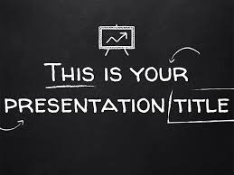 Presentation Themes Google Free Powerpoint Template Or Google Slides Theme With Blackboard Style