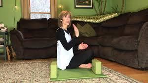 proper posture for sitting on floor or