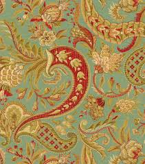 Small Picture A traditional paisley home dcor fabric with elegant color