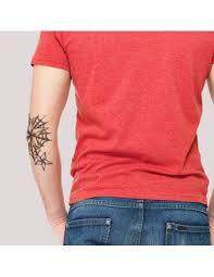 Pavučina A Námořnické Hvězdy Velké Nalepovací Tetování Na Loket