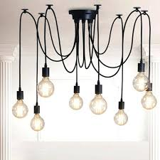 style retro pendant vintage lights loft creative spider industrial chandelier lighting industrial cage lighting chandelier