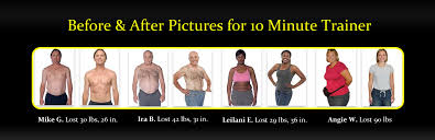 10 minute trainer before after