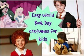 easy world book day costumes ideas for kids