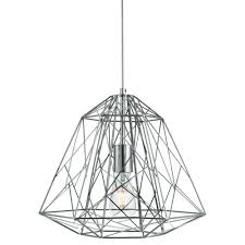 cage lighting. Geometric Cage Light (chrome) Lighting