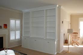 custom wall unit bookcases