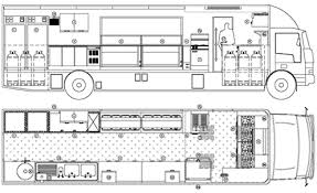 food truck floor plans. Mobile Kitchen Floor Plan | Food Trucks Truck Plans