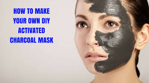 how to make your own diy activated charcoal mask