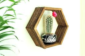 diy honeycomb shelves wall art home decor idea stick hexagon shelf bunnings diy honeycomb shelves