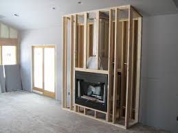 how to frame out a fireplace insert ideas