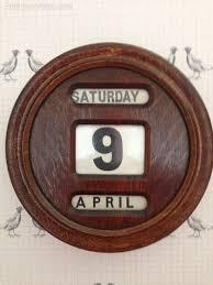 antiques atlas mahogany perpetual calendar