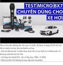 Rẻ Vô Địch ] Micro Đa Năng Siêu Phẩm 2021 Dành Cho Ô Tô Bx7 - Dàn Âm Thanh  Thu Nhỏ Amply Loa Kéo Loa Vi Tính Kết Nối Bluetooth Trên