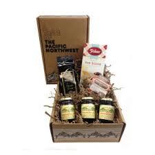 scone jam and tea gift box