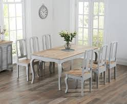 Buy The Parisian 175cm Grey Shab Chic Dining Table With Chairs Decor of Shabby  Chic Dining Tables And Chairs