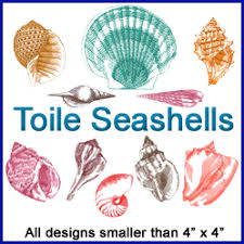 Seashell Design Machine Embroidery Designs At Embroidery Library Embroidery Library
