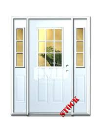 commercial glass entry doors chicago 9 lite half clear glass steel exterior door with 6 8