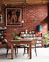 Exposed Brick Wall Interior Designs Stylish Exposed Brick Wall For Bedrooms Exposed