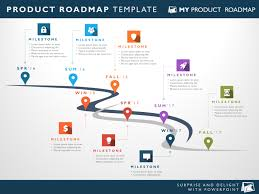 Road Map Powerpoint Eight Phase Software Planning Timeline Roadmap Powerpoint Diagram