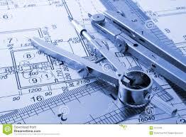 Architecture blueprint stock photo Image of backgrounds 7273794