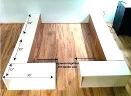 diy king platform bed with storage. Diy King Platform Bed Frame With Storage Build  Best