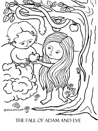 Small Picture Collection of Solutions 2017 Adam And Eve Coloring Pages For Kids