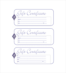 gift certificates format 15 business gift certificate templates free sample example