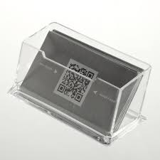 Business Cards Display Stands Clear Desktop Business Card Holder Display Stand Acrylic Plastic 30