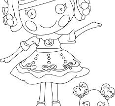 Nice Lalaloopsy Cartoon Coloring Pages Check More At Printable
