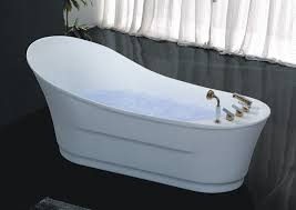 unique freestanding tub with air jets hs b557 single use free regard to jetted plan 6