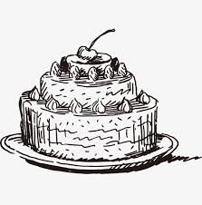 Vector Sketch Cake Cake Clipart Vector Sketch Png And Vector With