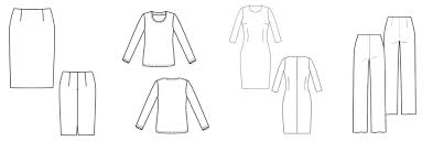 Clothing Pattern Simple Decorating Ideas