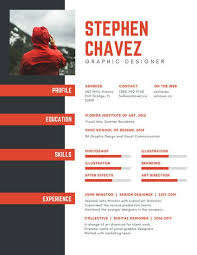 Graphic Design Resumes Beauteous Customize 60 Graphic Design Resume Templates Online Canva