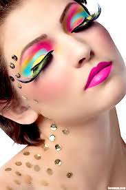 makeup ideas with makeup techniques with funky eye makeup fashion beauty