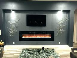 tv fireplace wall unit designs home decor living room modern with built in install over mount tv fireplace wall