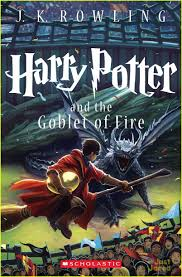 harry potter and the goblet of fire new book cover