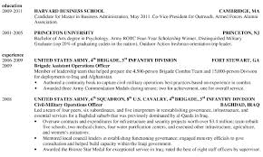 100 Military Resume Examples Free Sample Resume For