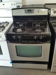 Gas Stainless Steel Cooktop Used Admiral Stainless Steel Stove Gas For Sale In Santa Ana Ca