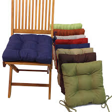 square outdoor chair cushions with ties set of 4 com