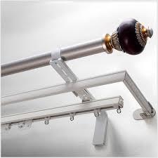wide pocket curtain rod extender graber decorative curtain rod bracket projection extender