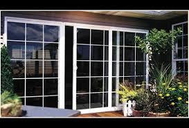 sliding glass doors security screen