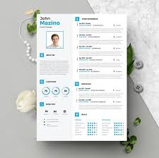 Resume Template Instant Download 2 Pages Cv Template Cover Letter Diy Printable Professional And Creative Resume Design