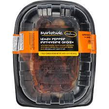 Walmart Deli Nutrition Chart Marketside Lemon Pepper Rotisserie Chicken 29 Oz