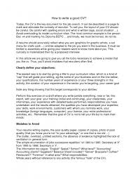 The Most Awesome How Do I Write A Good Resume Resume Format Web