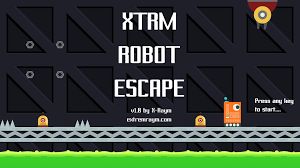 xtrm robot escape my first platformer game prototype initiation to construct 2