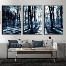 Wall Art Sets For Living Room Compare Prices On Forest Wall Art Set Of 3 Online Shopping Buy